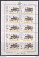 South Africa 1997 Motoring In South Africa 10v In Sheetlet ** Mnh (F5988E) - Ongebruikt