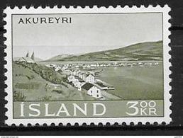 Islande 1963 N° 327  Neuf ** MNH Akureyri - 1944-... Republique