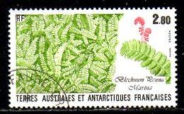 TAAF. N°143 Oblitéré De 1989. Flore. - Tierras Australes Y Antárticas Francesas (TAAF)
