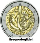 2011 NUMISMATICA - ANNO 2011 - 2€ - Giornata Mondiale Gioventù - In Folder - Vaticano