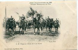 51 - Bétheny :  Fêtes Franco-Russes De 1901 - Grandes Manoeuvres De L' Est - N° 27 - Bétheny