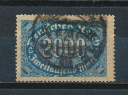 Duitse Rijk/German Empire/Empire Allemand/Deutsche Reich 1922 Mi: 253 Yt: 188 (Gebr/used/obl/o)(2818) - Duitsland
