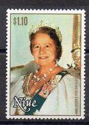NIUE Timbre Neuf ** De 1980  (ref  4833 )  Famille Royale  Queen Mother - Niue