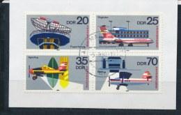 DDR/East Germany/Allemagne Orientale 1980 Mi: 4 Block (Gebr/used/obl/o)(2826) - [6] Oost-Duitsland