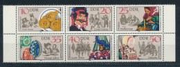 DDR/East Germany/Allemagne Orientale 1982 Mi: 6 Block 2716-2721 Yt:  (PF/MNH/Neuf Sans Ch/**)(2828) - Blokken