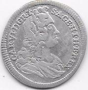 Autriche - Charles VI - 3 Groschen 1728 - Argent - Autriche