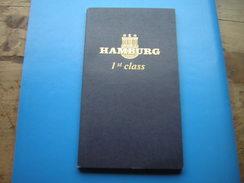 TOURISME LIVRET HAMBOURG 1st CLASS 1980 1980 / 1981 EN ALLEMAND Et ANGLAIS - Livres, BD, Revues