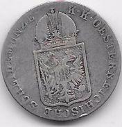Autriche - 6 Kreuzer 1849 C - Argent - Autriche