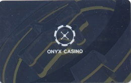 Carte De Casino : Onyx Casino Hongrie Hungary (slightly Bent) - Casino Cards