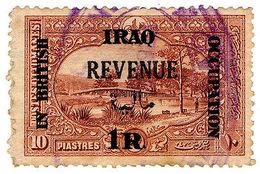 (I.B) Iraq Revenue : British Occupation 1R On 10pi OP - Iraq