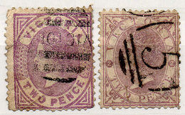 (I.B) Australia Postal : Victoria 2d - Australia