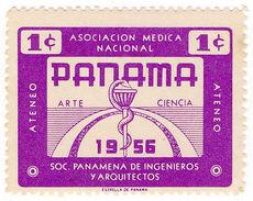 (I.B) Panama Cinderella : Medical Charity Stamp 1c - Panama