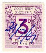 (I.B) Southern Rhodesia Revenue : Personal Tax 3d - Groot-Brittannië (oude Kolonies En Protectoraten)