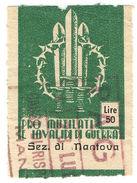 (I.B) Italy Cinderella : War Invalids Charity Stamp 50L (Mantua) - Italy