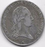 Autriche - Austrian Netherland - Franc II - Kronenthaler 1794A - Argent - Autriche