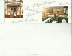 Carte De Visite De Restaurant  MARIO _Ses Specialités A PARIS  75   5e - Cartoncini Da Visita
