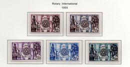 Tunisie YT 390-394 XX / MNH Rotary - Tunisia (1888-1955)