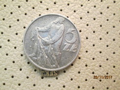 Poland 5 Zloty 1974 # 5 - Poland