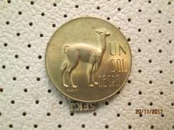 Peru 1 Sol 1968 # 5 - Peru