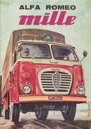 Camion Truck Alfa Romeo Mille - Postcard - Poster Reproduction - Publicité