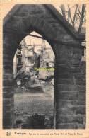 CPA BASTOGNE VUE SUR LE MONUMENT AUX MORTS 1914 ET PLACE ST PIERRE - Bastenaken