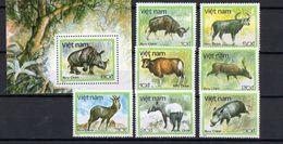 1988 VIETNAM - Animals - Rhinozerosse