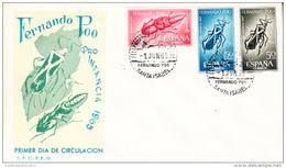 FERNANDO POO 1965  FDC. SOBRE 1er. DIA.PRO INFANCIA  CN 1037 - Fernando Po