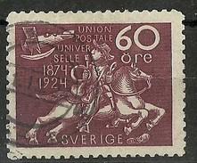 SUECIA 1924 Mi:SE 169, Sn:SE 223, Yt:SE 188, AFA:SE 184, Fac:SE 221 - Suecia