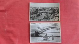 New South Wales (NSW) > Sydney Photo Same Size As Postcard--- Blank Back Lot Of 2 Viewa  Ref 2731 - Sydney