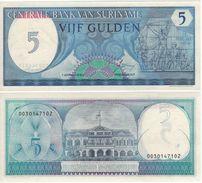 SURINAME   5  Gulden  P125    1982   UNC - Surinam