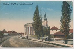 Turkeve. Detail With The Evangelical Reformed Church - Hungary