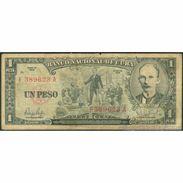 TWN - CUBA 90 - 1 Peso 1959 F 389623 A VG - Cuba