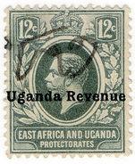 (I.B) KUT Revenue : Uganda Duty 12c (1912) - Kenya, Uganda & Tanganyika