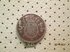 SPAIN 5 Pesetas 1975 # 5 - 5 Pesetas
