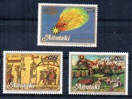 Aitutaki - 1986 - Appearance Of Halley's Comet (2nd Issue) - MNH - Aitutaki