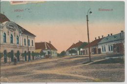 Abony. Szolnoki Street - Hungary