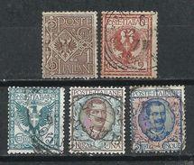 Italia. 1901. Águila De La Casa De Savoya Y Víctor Manuel III - 1900-44 Victor Emmanuel III