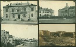 Ansichtskarte Constanța Rumänien Vier Alte AK Deutsche Feldpost 1917 - Ansichtskarten