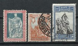 Italia. 1928. 4º Centenario De Emmanuel Philibert De Savoya - 1900-44 Victor Emmanuel III