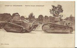 Camp Du Valdahon - Petit Chars Renault - Matériel