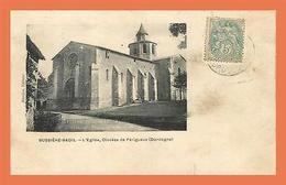 A494 / 625  24 - BUSSIERE BADIL Eglise Diocese De Périgueux - France