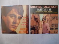MICHEL DELPECH : LOT De 2 CD Scan Recto Et Verso - Collectors