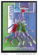 LITHUANIA 1996 Olympic Medal Block  MNH / ** . Michel Block 8 - Lithuania