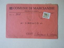 TEMATICA BUSTE COMUNALI - COMUNE DI MARCIANISE  1969 - Buste