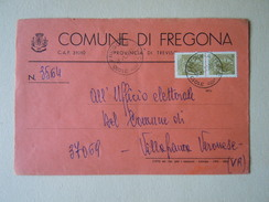 TEMATICA BUSTE COMUNALI - COMUNE DI FREGONA   1969 - Buste