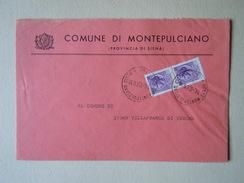 TEMATICA BUSTE COMUNALI - COMUNE DI MONTEPULCIANO    1969 - Buste