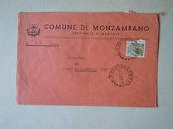 TEMATICA BUSTE COMUNALI - COMUNE DI MOZAMBANO    1969 - Buste