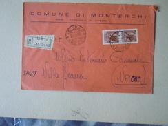 TEMATICA BUSTE COMUNALI - COMUNE DI MONTERCHI  1969 - Buste