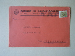 TEMATICA BUSTE COMUNALI - COMUNE DI CALOLZIOCORTO   1969 - Buste