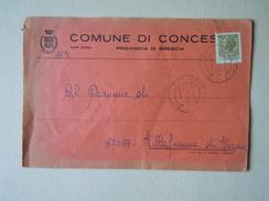 TEMATICA BUSTE COMUNALI - COMUNE DI CONCESIO   1969 - Buste